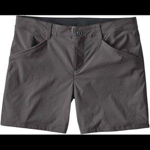 Gray Patagonia shorts